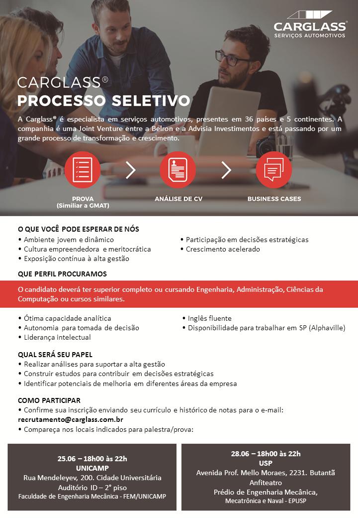 Processo Seletivo USP.UNICAMP 2018