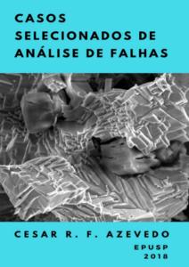 capa do livro Casos selecionados de análise de falhas, do politécnico Cesar Azevedo